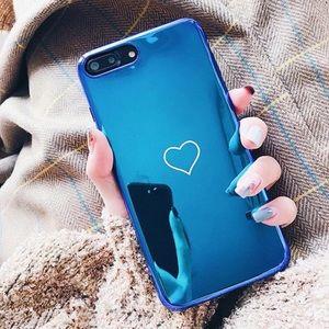 Accessories - Iridescent Blue iPhone Case 6-X